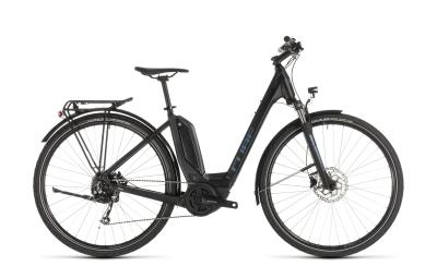CUBE Touring Hybrid ONE 500 black 'n' blue Easy Entry 2019