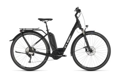 CUBE Touring Hybrid Pro 500 black 'n' white Easy Entry 2019