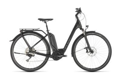 CUBE Touring Hybrid EXC 500 black 'n' grey Easy Entry 2019