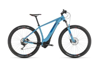 CUBE Reaction Hybrid EXC 500 blue 'n' red 2019