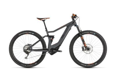 CUBE Stereo Hybrid 120 HPC TM Kiox 500 grey 'n' orange 2019