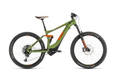 CUBE Stereo Hybrid 140 Race 500 27.5 green 'n' orange 2019
