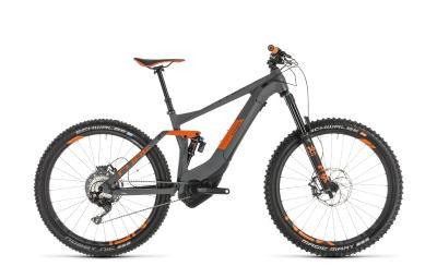 CUBE Stereo Hybrid 140 TM 500 KIOX 27.5 grey 'n' orange 2019