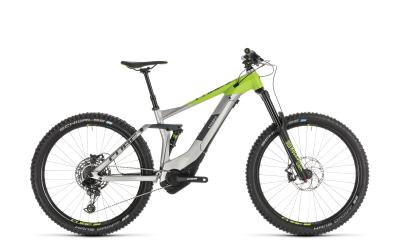 CUBE Stereo Hybrid 160 Race 500 27.5 grey 'n' green 2019