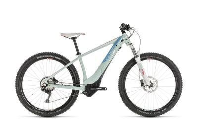CUBE Access Hybrid EXC 500 blue 'n' coral 2019