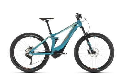 CUBE Sting WS Hybrid 120 Race 500 turquoise 'n' apricot 2019