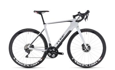 CUBE Agree Hybrid C:62 SL Disc white 'n' black TESTBIKE  2019