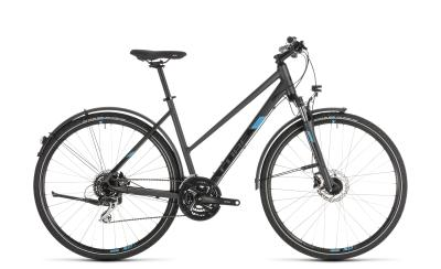 CUBE Nature Allroad iridium 'n' blue Trapeze 2019