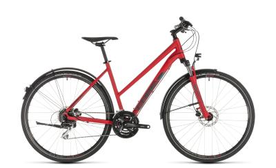 CUBE Nature Allroad red 'n' grey Trapeze 2019