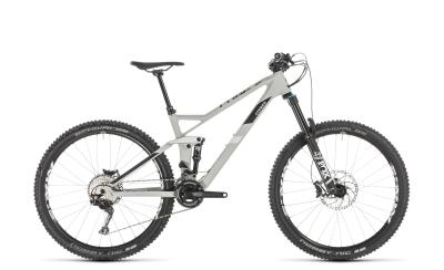 CUBE Stereo 140 HPC Race 27.5 grey 'n' white 2019