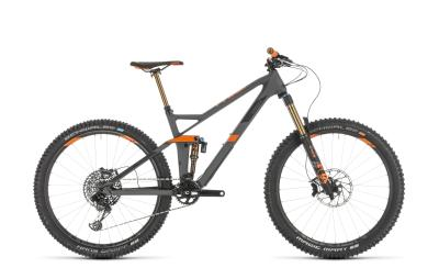 CUBE Stereo 140 HPC TM 27.5 grey 'n' orange 2019