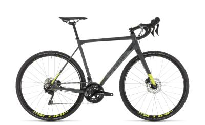 CUBE Cross Race Pro grey 'n' flashyellow 2019