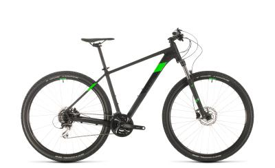 CUBE Aim Race black 'n' flashgreen 2020