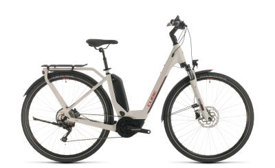 CUBE Touring Hybrid Pro 500 grey 'n' red Easy Entry 2020