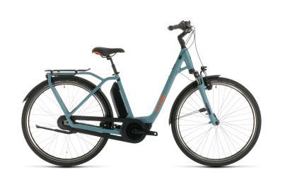 CUBE Town Hybrid Pro RT 500 blue 'n' orange Easy Entry 2020