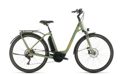 CUBE Town Sport Hybrid Pro 500 green 'n' orange Easy Entry 2020