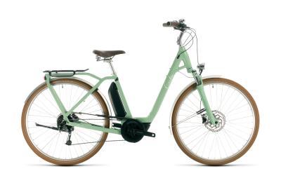 CUBE Ella Ride Hybrid 500 green 'n' white Easy Entry 2020