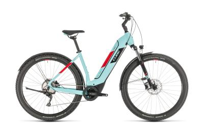 CUBE Nuride Hybrid Pro 500 Allroad glacierblue 'n' red Easy Entry 2020