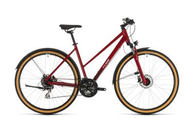 CUBE Nature Allroad red 'n' grey Trapeze 2020