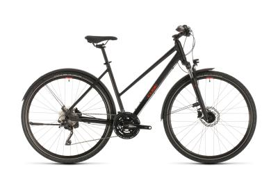 CUBE Nature EXC Allroad black 'n' red Trapeze 2020