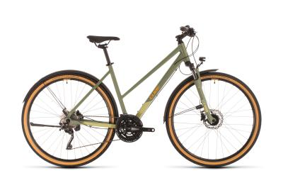 CUBE Nature EXC Allroad green 'n' orange Trapeze 2020