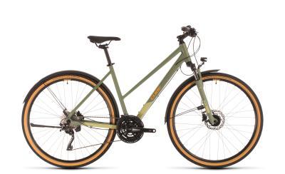 CUBE Nature EXC Allroad green 'n' orange Trapeze 2020