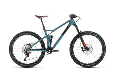 CUBE Stereo 140 HPC Race 27.5 bluegrey 'n' red 2020