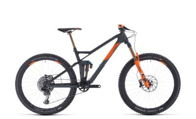 CUBE Stereo 140 HPC TM 27.5 grey 'n' orange 2020
