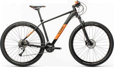 CUBE Aim SL black 'n' orange 2021