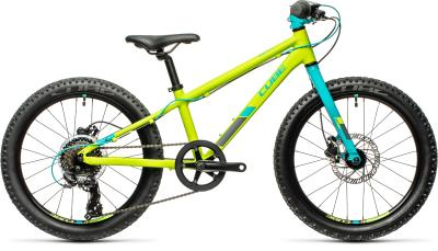 CUBE Acid 200 Disc green 'n' petrol 2021