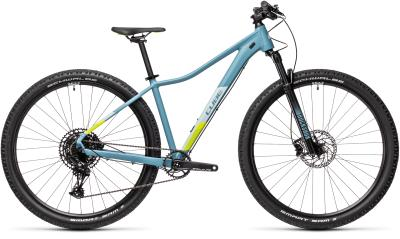 CUBE Access WS SL greyblue 'n' lime 2021