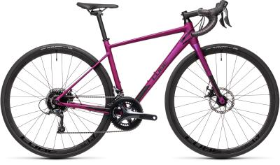 CUBE Axial WS Pro purple 'n' black 2021