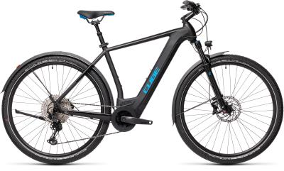 CUBE Cross Hybrid Race 625 Allroad black 'n' blue 2021