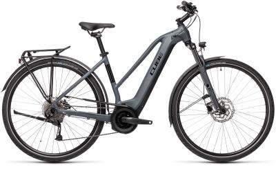 CUBE Touring Hybrid ONE 500 grey 'n' black Trapeze 2021