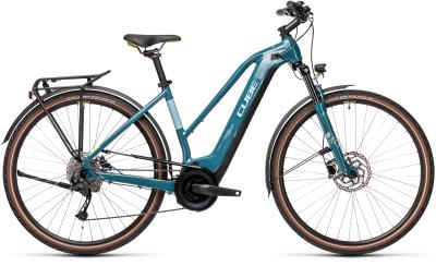 CUBE Touring Hybrid ONE 500 blue 'n' green Trapeze 2021