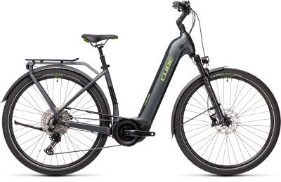 CUBE Touring Hybrid EXC 500 iridium 'n' green Easy Entry 2021