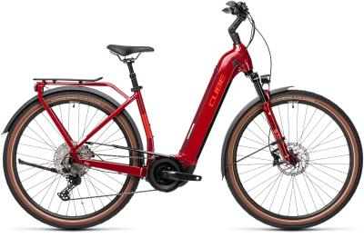 CUBE Touring Hybrid EXC 500 red 'n' grey Easy Entry 2021