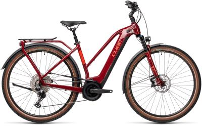 CUBE Touring Hybrid EXC 500 red 'n' grey Trapeze 2021