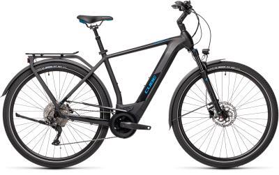 CUBE Kathmandu Hybrid Pro 625 black 'n' blue 2021