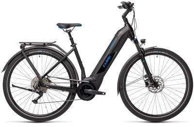 CUBE Kathmandu Hybrid Pro 625 black 'n' blue Easy Entry 2021