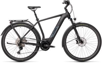 CUBE Kathmandu Hybrid EXC 625 black 'n' grey 2021