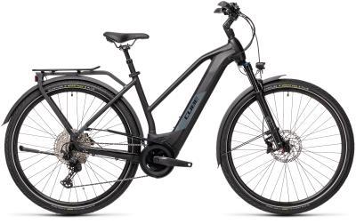 CUBE Kathmandu Hybrid EXC 625 black 'n' grey Trapeze 2021
