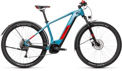 CUBE Reaction Hybrid Performance 500 Allroad blue 'n' red 2021