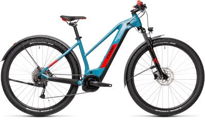 CUBE Reaction Hybrid Performance 500 Allroad blue 'n' red Trapeze 2021