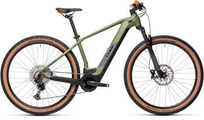 CUBE Reaction Hybrid Race 625 29 green 'n' orange 2021
