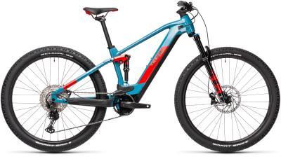 CUBE Stereo Hybrid 120 Race 625 blue 'n' red 2021