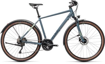 CUBE Nature Pro Allroad blue 'n' green 2021