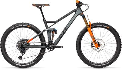 CUBE Stereo 140 HPC TM 27.5 flashgrey 'n' orange 2021