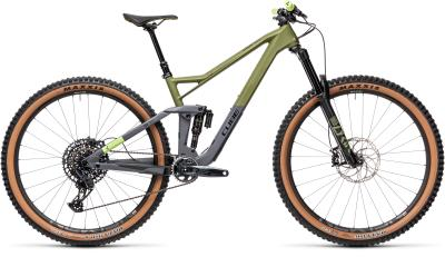 CUBE Stereo 150 C:62 Race 29 olive 'n' grey 2021