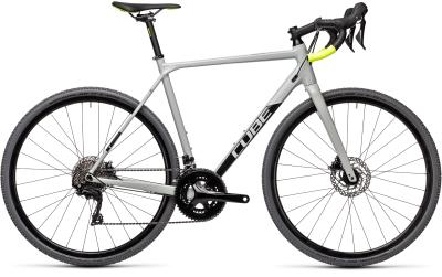 CUBE Cross Race Pro grey 'n' flashyellow 2021